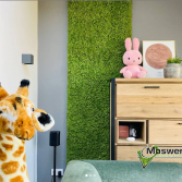 Moswand in de kinderkamer | Moswens