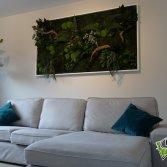 Onderhoudsvrije plantenwand | Moswens