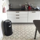 Keukenvloer met Portugese tegels | Mozaïekjes