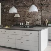 Keuken zonder bovenkasten