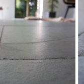 Grijsgroene leisteen tegels   Nibo Stone
