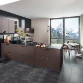 Nolte Küchen Center No.1 keuken met Nappa front