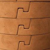 Stijlvolle hoge ronde houtkachel | Nordpeis