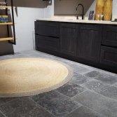 Grijze kalksteenvloer | Norvold