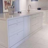 Klassiek wit marmeren vloer | Norvold