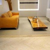 Visgraatvloer van natuursteen | Norvold