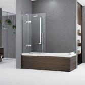Novellini badwanden - douchecabine & bad in één