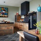 Eikenhouten keukens