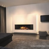 M-design liftdeurhaard Luna Diamond horizontaal