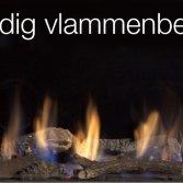 De Faber Step Burner® haard: warmte naar wens