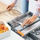 Foliesnijders in keukenlade | Orgalux