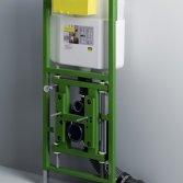 Viega Eco Plus: in hoogte verstelbare wc-element