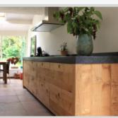 JP Walker ruw houten keuken