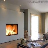 M-design liftdeurhaard Luna Diamond Verticaal