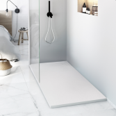 Minimalistisch design voor de douche