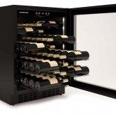 Onderbouw labelview wijnkoeler | Dunavox DAU-10.438SS