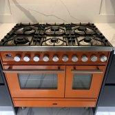 Orange is the new black! ILVE Professional Plus in RAL kleur!