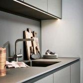 Moderne greeploze design keuken | Poggenpohl