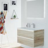 Modern en greeploos badkamermeubel
