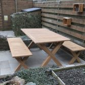 Teak picknick set | Puurteak
