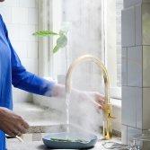 Veilige kokendwaterkraan