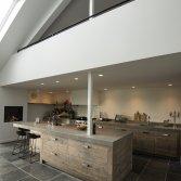 Restylexl oud eiken open keuken product in beeld startpagina voor keuken idee n uw - Keuken oud land ...