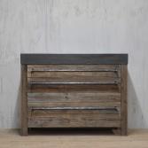 Badkamermeubel van oud barnwood | RestyleXL