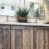 RestyleXL badkamermeubel van nostaligisch eikenhout