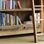 Boekenkast van Barnwood | RestyleXL