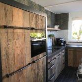 Karakteristieke oud houten keuken