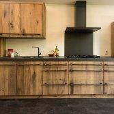 RestyleXL keuken van geschaafd oud eiken