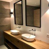 Op maat gemaakt houten badkamermeubel | RestyleXL
