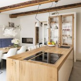 Eiken keuken met massief werkblad   RestyleXL