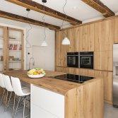 Eiken keuken met massief werkblad | RestyleXL