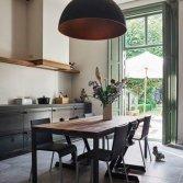 Stalen keuken met eiken kastenwand | RestyleXL