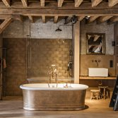Quaryl bad met klassieke look | Retro sanitair