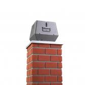 RSVG rookgasventilator voor gasgestookte haarden