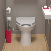 Sanibroyeur SANICOMPACT® Elite wc zonder reservoir