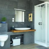 Sanibroyeur SANIPACK® Pro UP voor complete badkamer