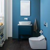 Sanidrome Duravit toilet met Scandinavisch design