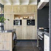 Houten leefkeuken | Schoonhoven Keukens