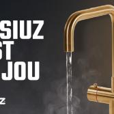 Kokendwaterkraan met safe touch | Selsiuz