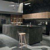 Designkeuken met minimalistische contouren