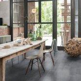 Donkere houten vloer St Petersburg Plank