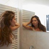 Spiegel verwarming voorkomt condens