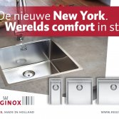 Spoelbak New York optimale hygiene