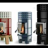 Keramische houtkachel extra warmteopslag