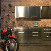 Keuken modules van staal