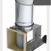 Hygiënische en onzichtbare toiletrolhouder