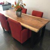 Suar boomstam tafel | Woodindustries